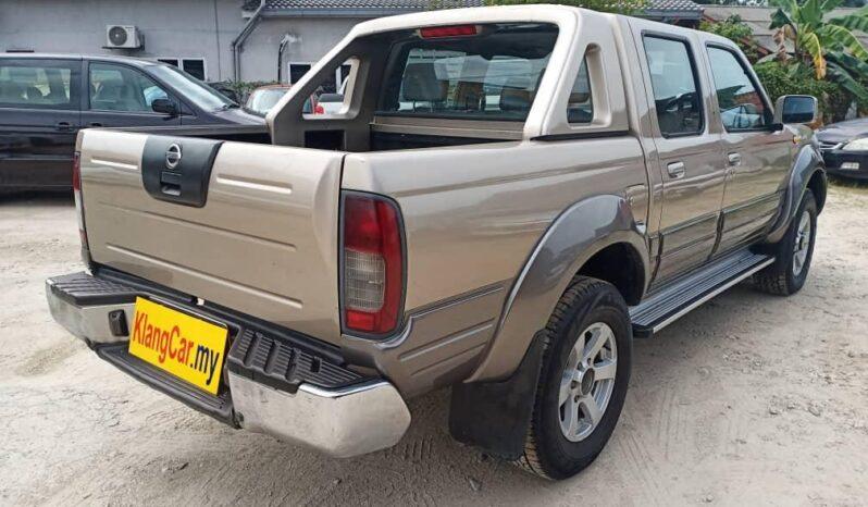 Nissan FRONTIER 2.5 4WD DIESEL TURBO (M) -TY full